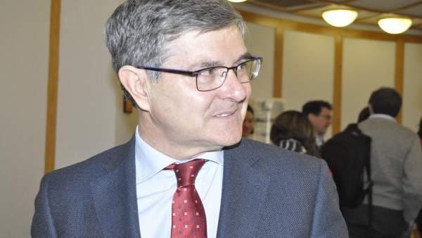 El consejero de Presidencia de Aragón, Vicente Guillén.