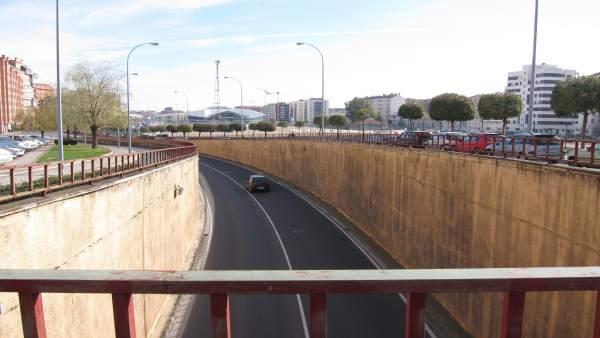 Túnel de Duques de Nájera que está previsto se derribe