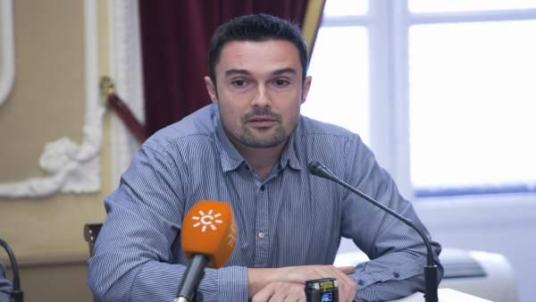Martín Vila, concejal del Ayuntamiento de Cádiz