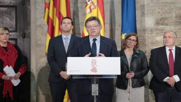 """Puig mostra el seu suport a la FVMP en la reivindicació d'invertir el superàvit i critica les """"restriccions absurdes"""""""