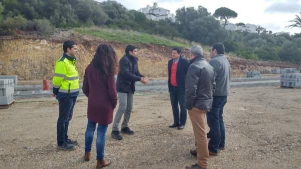 Francisco Oblaré informa de infraestructuras en Casares