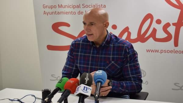 El socialista José Antonio Diez.