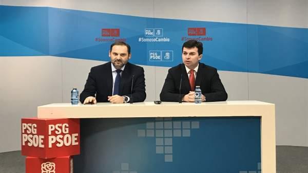 Rueda de prensa de José Luis Ábalos y Gonzalo Caballero