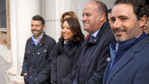 El alcalde de Antequera Manuel Barón
