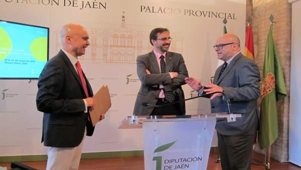 Presentación del III Congreso sobre Aceite de Oliva Virgen, Olivar y Salud.