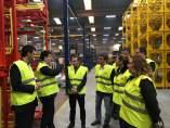 Beamonte ha visitado hoy la empresa TATOMA en Monzón