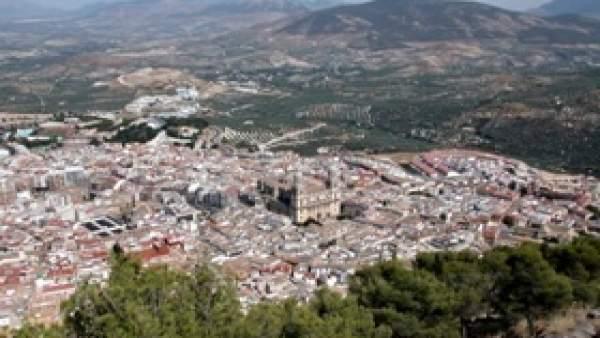 Vista de la ciudad de Jaén
