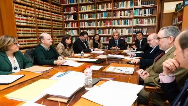 Reunión Presidencia - Letrados