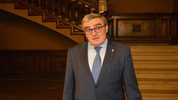 El alcalde de Lleida y presidente del PSC, Àngel Ros