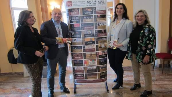 Presentación de la programación del Gran Teatro de Cáceres