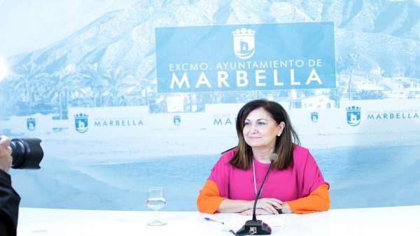 Carmen Díaz concejala del PP de Cultura en Ayto de Marbella