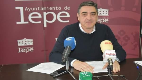 Jesús Toronjo, en rueda de prensa.