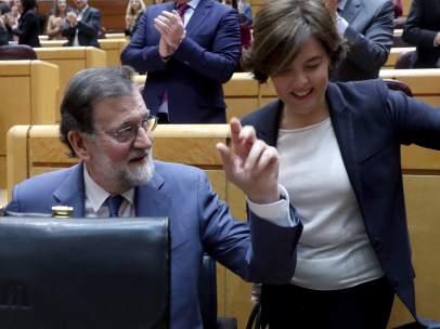 Rajoy y Sáenz de Santamaría