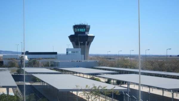 Torre de control del Aeropuerto de Corvera