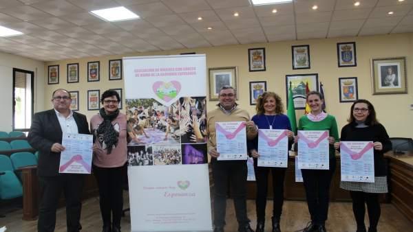 Presentación de una jornada sobre estilos de vida saludable en Axarquía