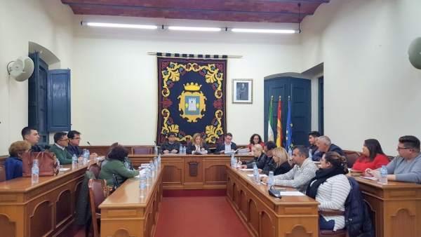 Pleno del Ayuntamiento de Níjar (Almería)