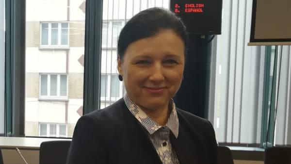 Vera Jourova, comisaria de Igualdad de la Unión Europea
