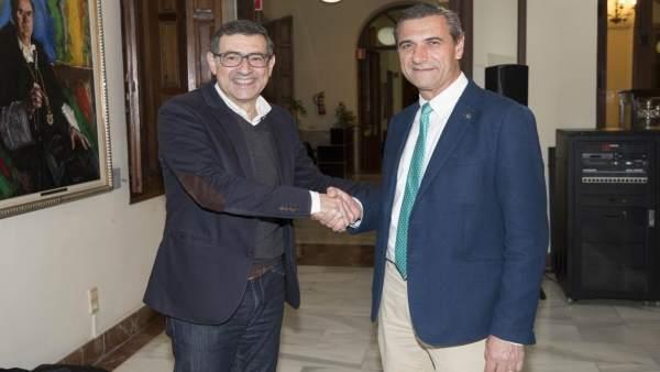 José Luján y Pedro Lozano