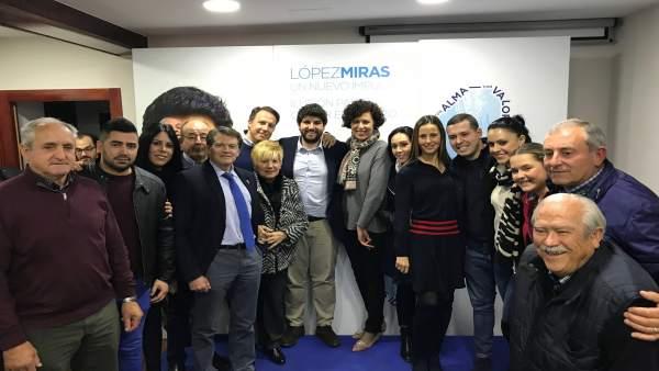 López Miras, en Puerto Lumbreras