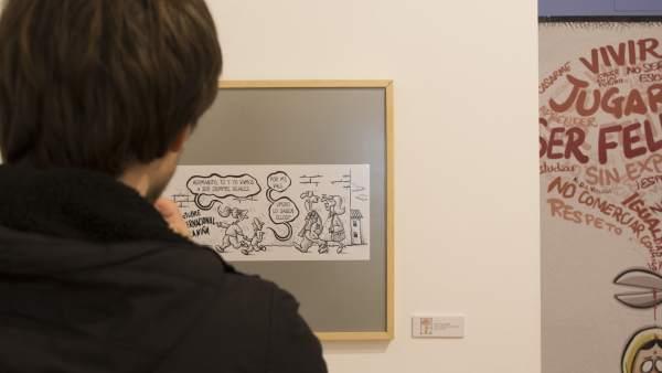 'El futuro lo dibujan las niñas': una exposición que crea conciencia