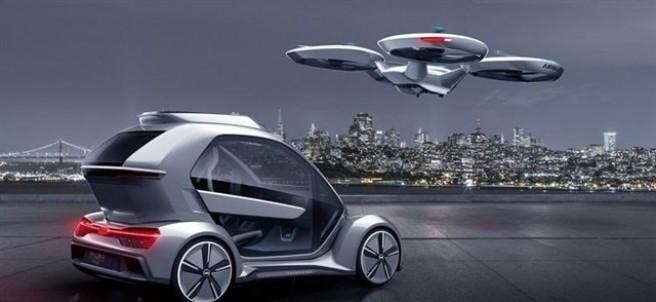 Dron de Audi, Italdesign y Airbus