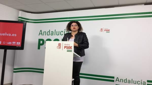 La secretaria de Igualdad del PSOE, Eva Salazar.