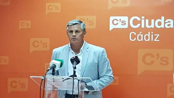 Javier Cano, diputado nacional de Ciudadanos por Cádiz