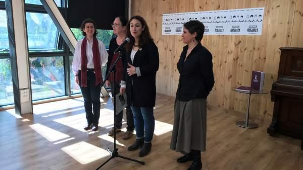 Laura Pérez y Gala Pin.