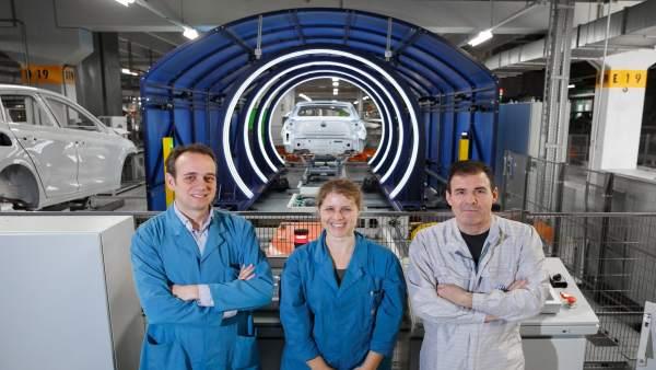 Francisco Rodríguez Funes, Amaya Novoa y Luis Bacaicoa, de WV