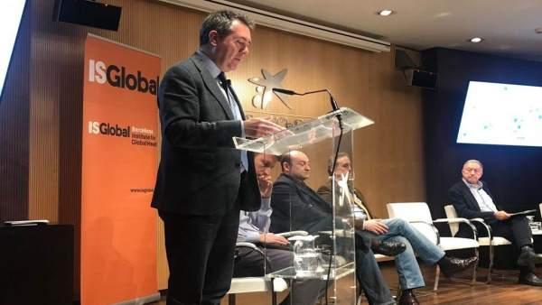 Juan Espadas interviene en el Foro Desarrollo Sostenible en Barcelona
