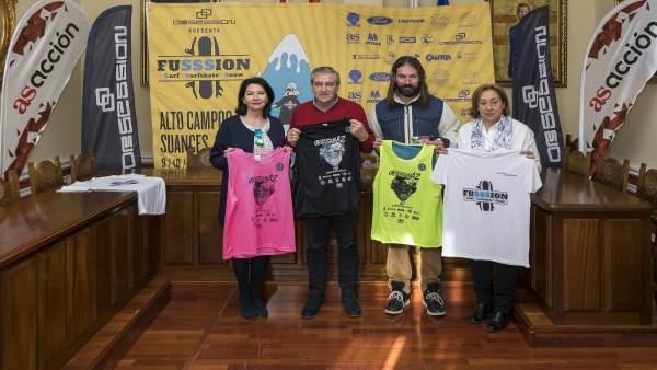 Las Directoras Generales De Deportes, Gloria Gómez, Y De Turismo, Eva Bartolomé,