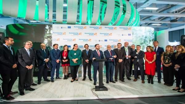 Inauguración Del Pabellón De Canarias, Esta Mañana, En La Feria Internacional De