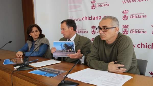 El alcalde de Chiclana, José María Román