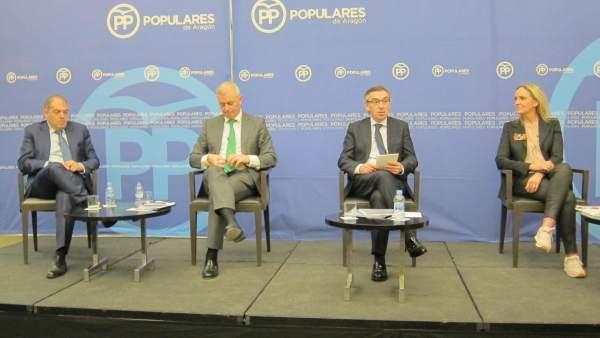 Foro sobre Emprendedores organizado por el Partido Popular de Aragón