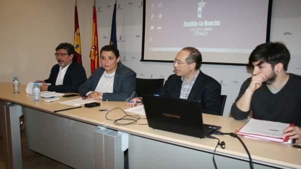García Élez presidiendo la reunión