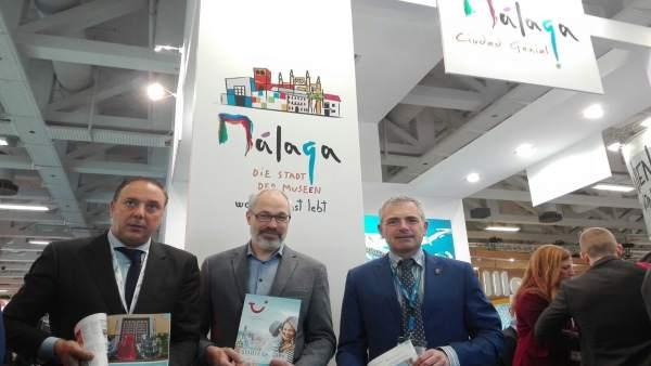El Ayuntamiento De Málaga Informa: Málaga Presenta En La Feria De Turismo De Ber