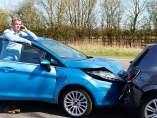 Colisión entre vehículos
