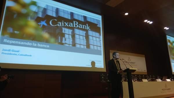 Jordi Gual. Presidente CaixaBank en Forinvest