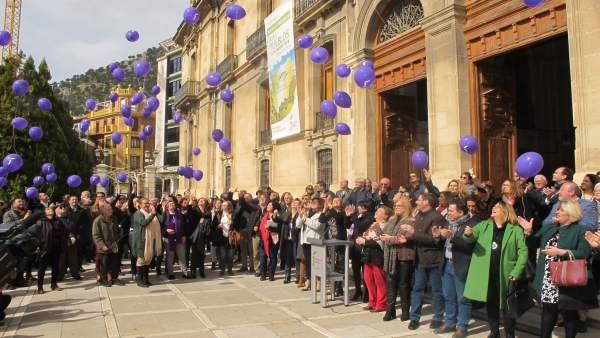 Acto institucional de la Diputación con motivo del Día Internacional de la Mujer