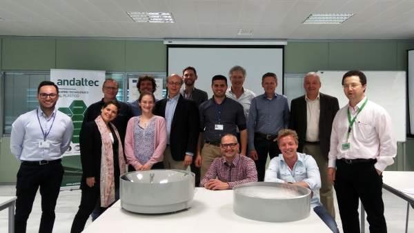 Técnicos que participan en el proyecto Cpv4all.