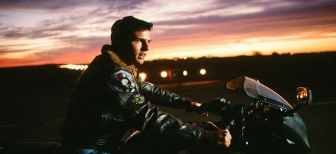 Tom Cruise en Top Gun