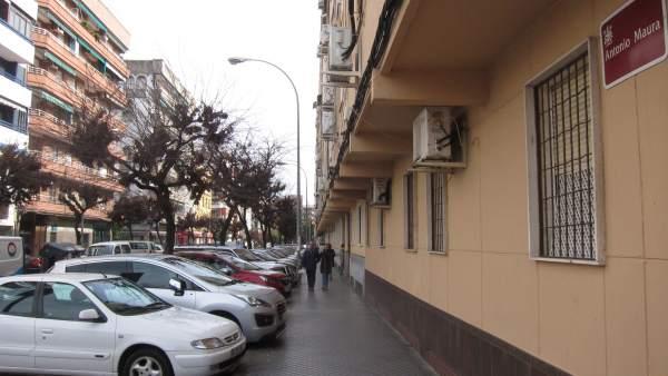 Calle Antonio Maura en Ciudad Jardín