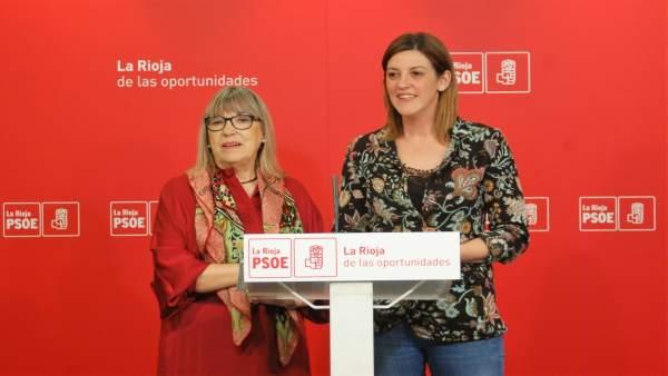 Altamira Gonzalo junto a María Marrodán
