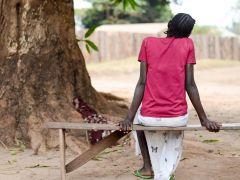 Víctima de la violencia sexual en Sudán del Sur