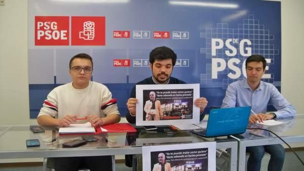 Xuventudes Socialistas presenta una campaña contra Baltar