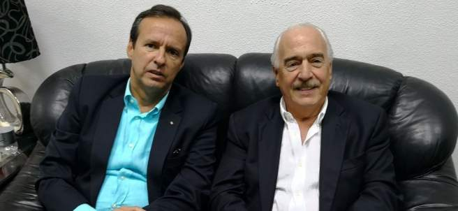 Andrés Pastrana y Jorge Quiroga