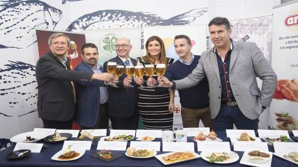 Brindis inaugural de la XI Ruta de Tapas de Almería