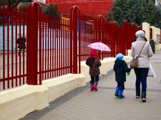 Camino de la escuela