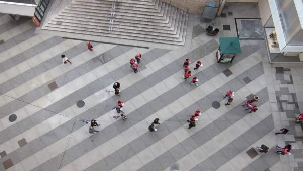Piquetes por Santander