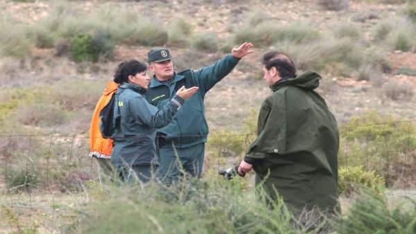 Búsqueda del menor desaparecido en Níjar (Almería)